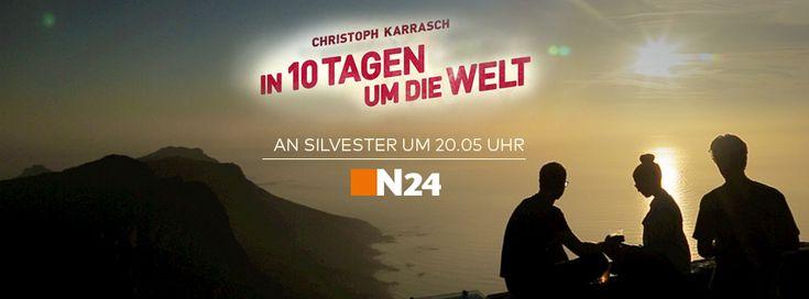 Der #10Tage-Film läuft an Silvester auf N24. Das ist der Start einer neuen Reise-Dokureihe, die wir 2016 für den Sender produzieren werden.