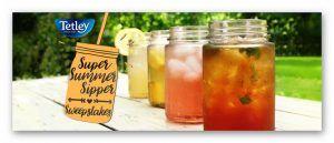 Tetley Tea Summer Sipper Sweepstakes (6 winners) – Ends July 7th #sweepstakes https://www.goldengoosegiveaways.com/tetley-tea-summer-sipper-sweepstakes?utm_content=buffer75481&utm_medium=social&utm_source=pinterest.com&utm_campaign=buffer