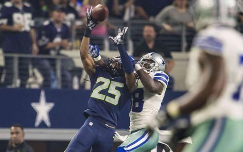"Seahawks Cornerback Richard Sherman ""Played A Fantastic Football Game"" vs Dez Bryant and the Dallas Cowboys   Seattle Seahawks"