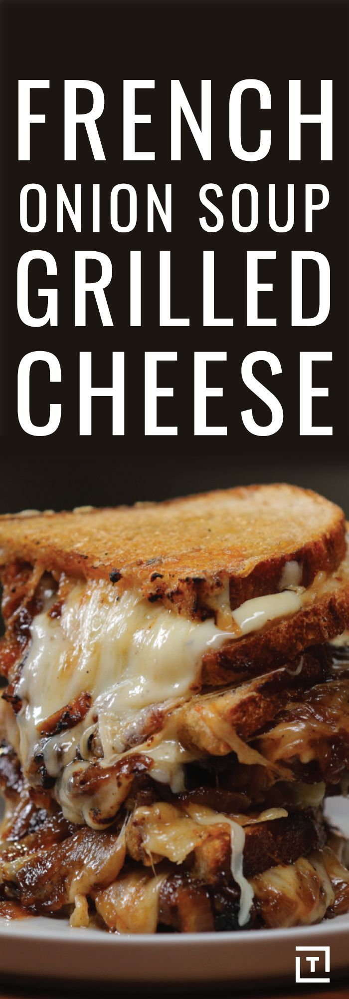 French onion soup grilled cheese! {wine glass writer}