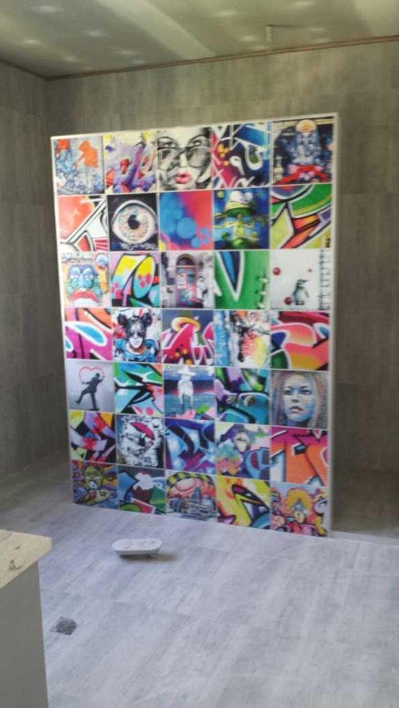 30 best Graffiti Tiles and Streetart Tiles images on Pinterest