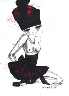 Vis Mademoiselle rouge