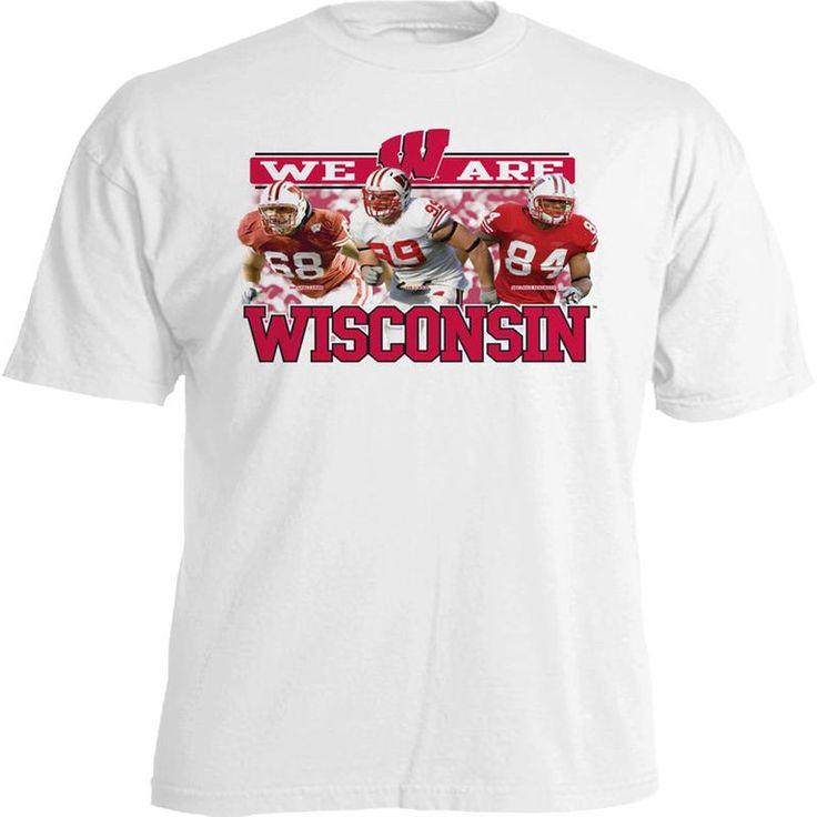 Wisconsin Badgers White 2011 NFL Draft Class T-Shirt