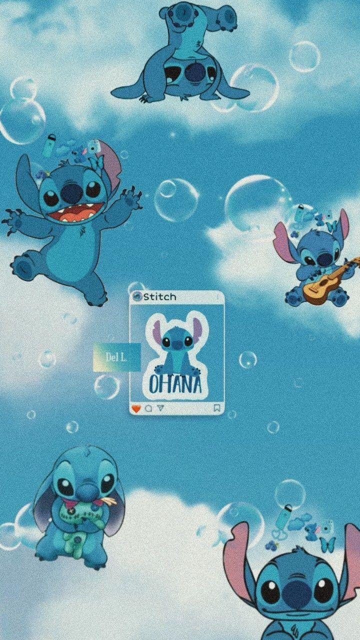 Stitch Wallpaper S Cartoon Wallpaper Iphone Disney Characters Wallpaper Cute Patterns Wallpaper