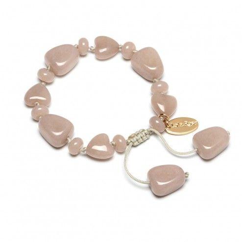 Lola Rose Carmela Seafoam Quartzite Bracelet at aquaruby.com