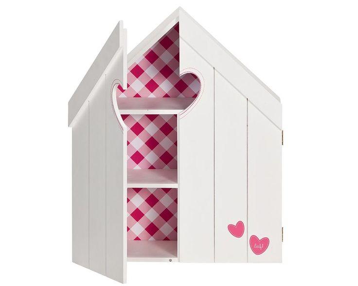 Letterbak huis Pien van lief!  onze favoriet voor de meisjeskamer! #kinderkamer #decoratie