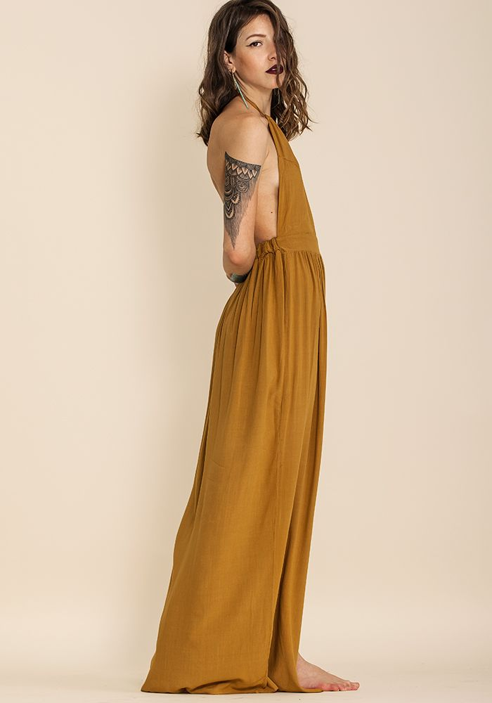 Old Cuban Dijon Dress - exclusive  by myfashionfruit.com