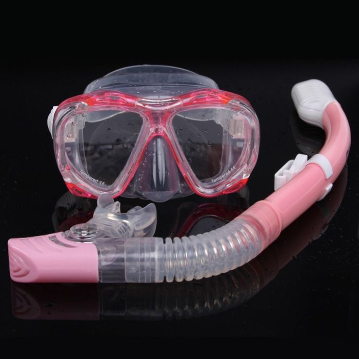 Free shipping diving mask snorkel set professional spearfishing gear Scuba Diving Equipment Dive Mask + Dry Snorkel Set black #scubadivingequipmentwatches