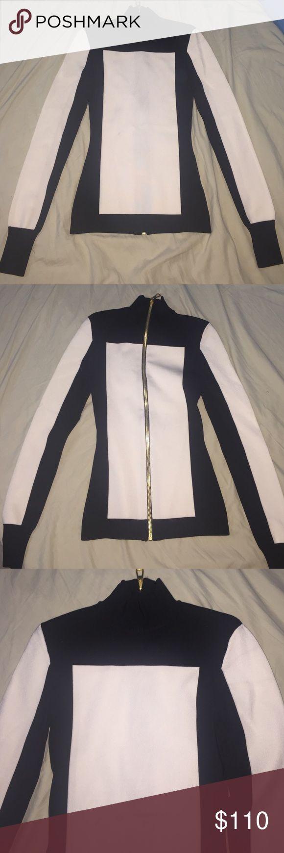 Sweater Balmain- limited edition turtleneck sweater with shoulder pads Balmain Sweaters Cowl & Turtlenecks