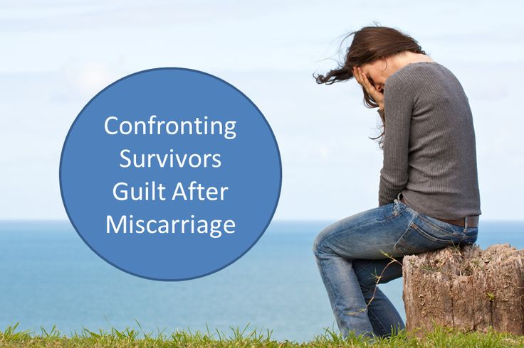 Read about the way to deal with survivors guilt after miscarriage.