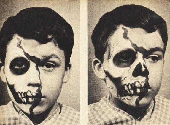 Vintage Halloween Makeup | The Eye of Faith