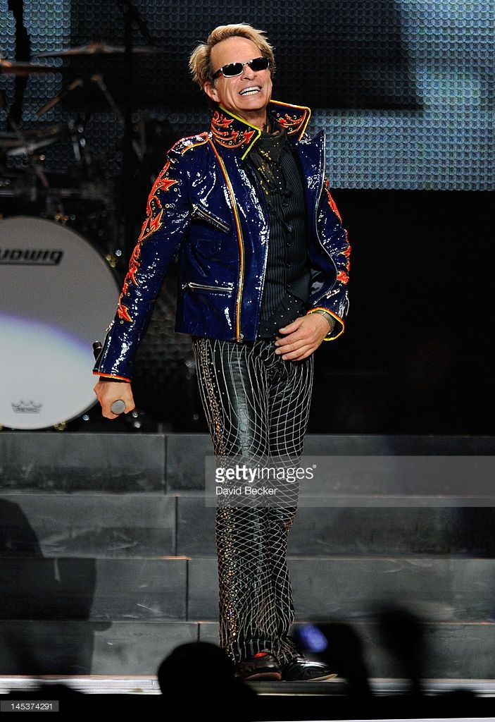 Singer David Lee Roth of Van Halen performs at MGM Grand Garden Arena on May 27, 2012 in Las Vegas, Nevada.