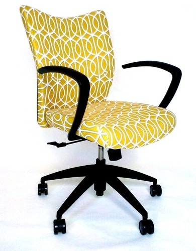 Cute and modern bristol office desk chair with dwellstudio for Cute office chairs
