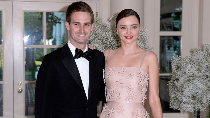 Miranda Kerr and Evan Spiegel Are Officially Engaged: After dating for a little over a year, Miranda Kerr and Evan Spiegel are now engaged.
