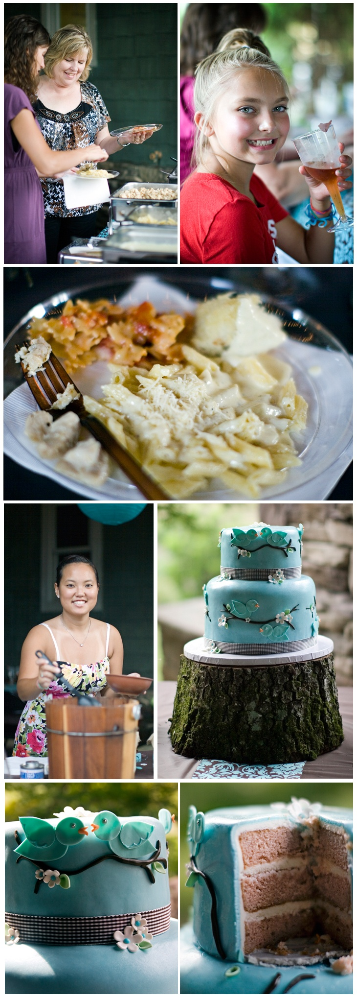 Love the idea of an outdoor baby shower! And love the cake too! :)