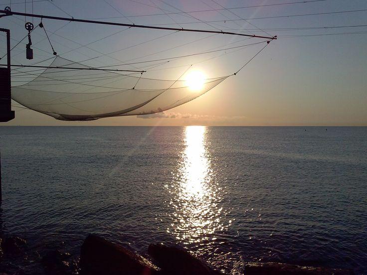 foto di Licia Romani. Alba sul mare