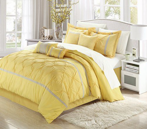 Pin By Christopher Webber On Guest Yellow Comforter Sets