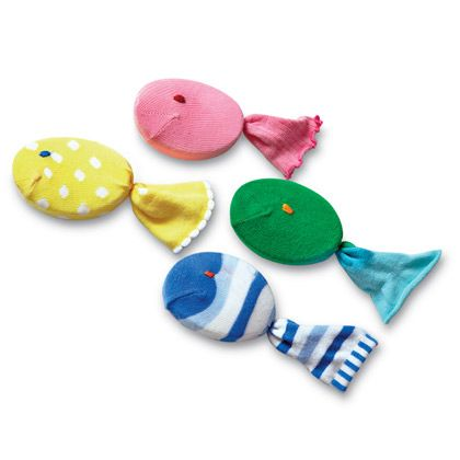 Soapy the Sock Fish DIY | LOVE THIS! | Helps little hands grip wet soap without making a mess!