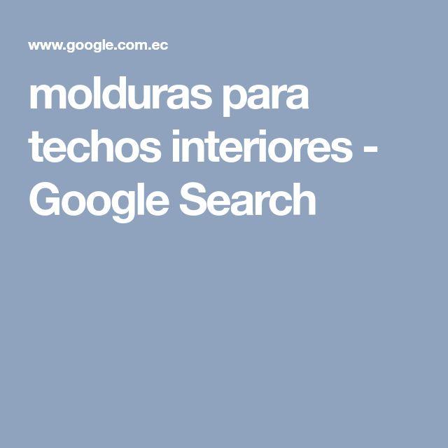 molduras para techos interiores - Google Search
