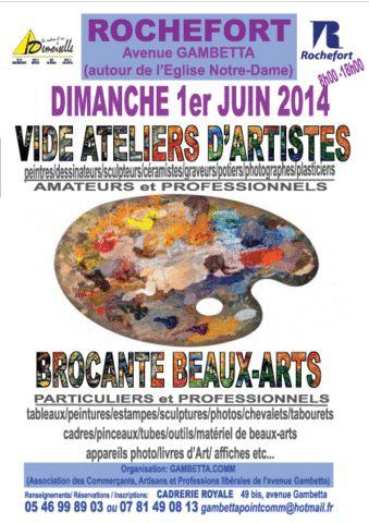 VIDE ATELIERS D'ARTISTES /BROCANTE BEAUX-ARTS   ICI Magazine - Charente Maritime