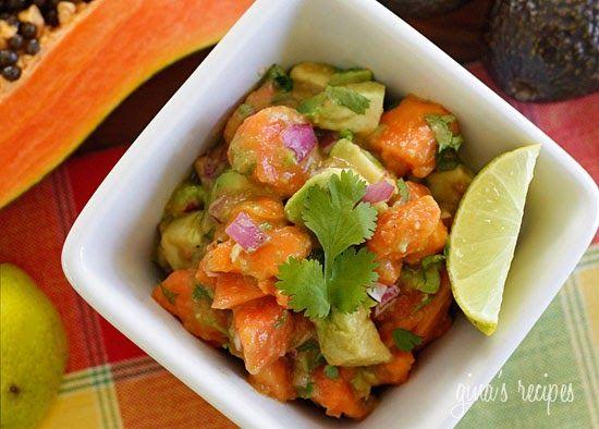 Papaya Avocado Salad | Skinnytaste
