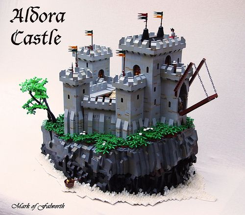 CCCXI Aldora castle by Mark of Falworth on Flickr