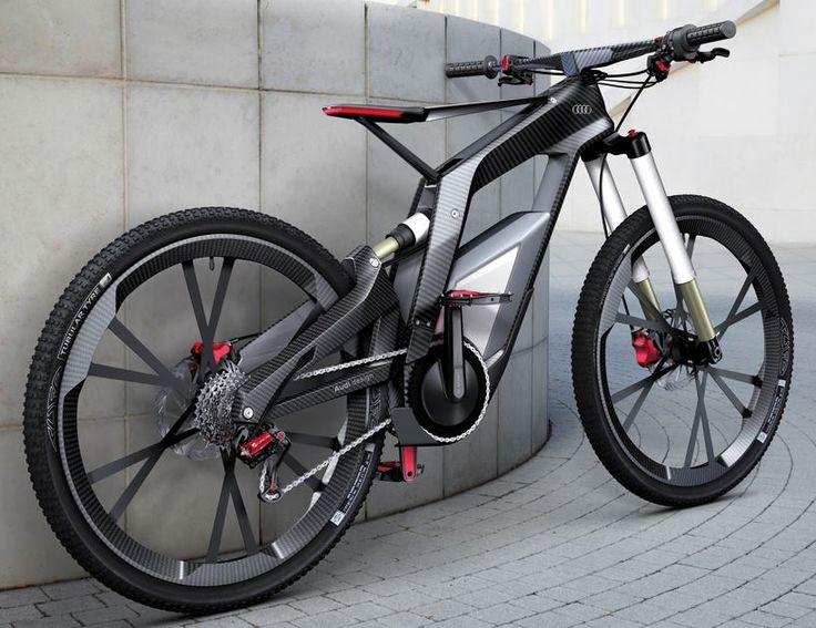 Audi Electric Bike - 80km/u!!