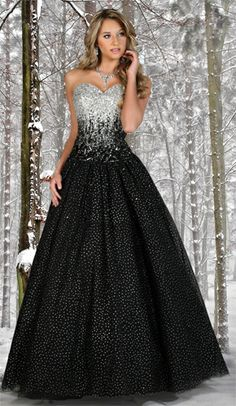 Disney Forever Enchanted Long Prom Dress ...does it come in other colors to.. Love it