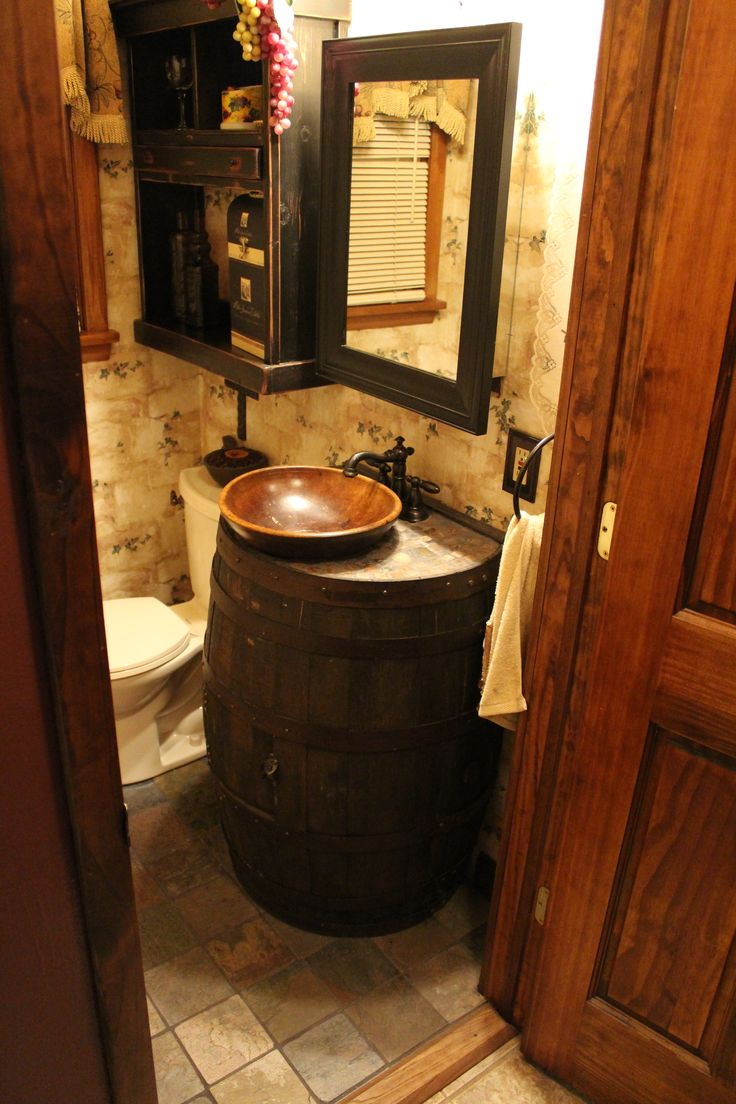Best 20+ Wine Barrel Sink Ideas On Pinterest