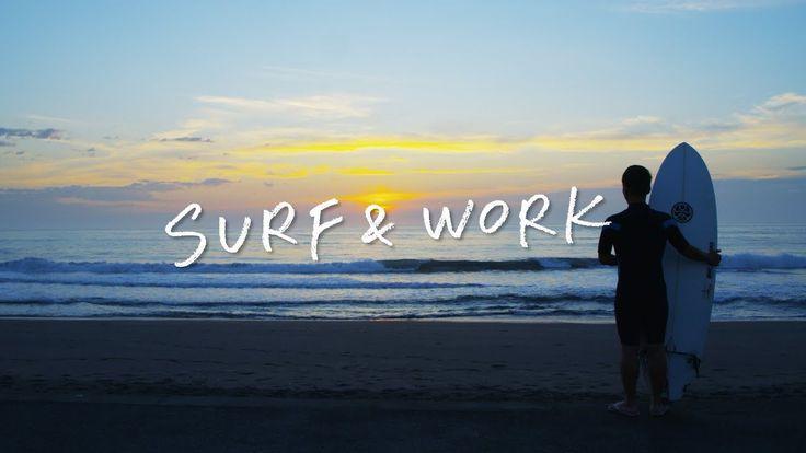 SURF&WORK 〜新しい働き方、はじまります。〜 千葉県一宮町「サーフィンと生きる町」PR動画