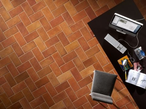 Tuscan Terracotta Effect Tiles - The Toscana Collection