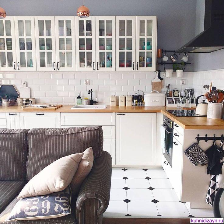 скандинавская кухня, скандинавские кухни фото, кухни в скандинавском стиле фото_165