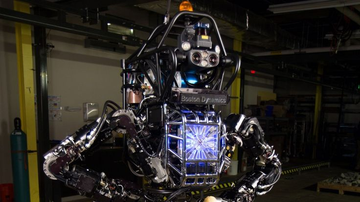 U.S. Navy's Robot Firefighters Prepare for a Test Run