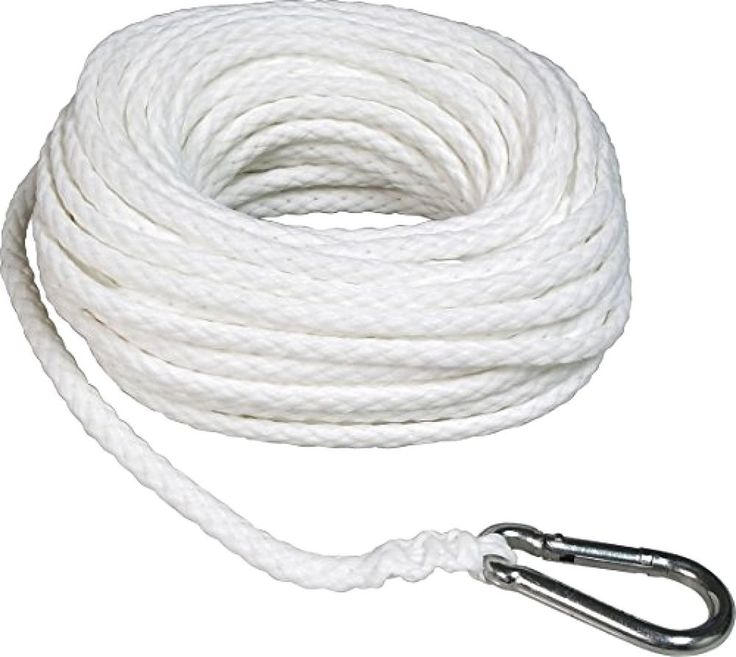 SeaSense Hollow Braid Rope Boat Anchor Line Polypropylene Boat Safety Equipment #SeaSense