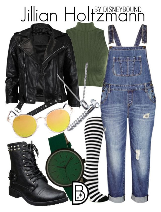 """Jillian Holtzmann"" by leslieakay ❤ liked on Polyvore featuring WearAll, City Chic, Simplify, VIPARO, Edge Only, Halloween, disneybound and ghostbusters"