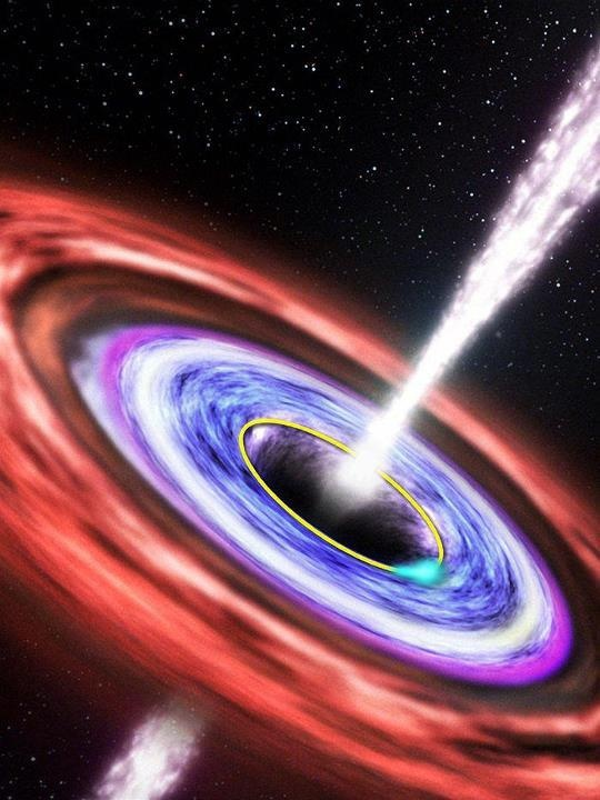 The Last Star Black Hole - Pics about space