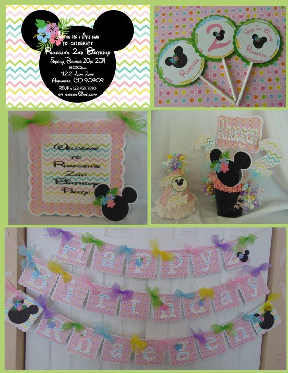 69 best Minnie Mouse Party Decorations images on Pinterest