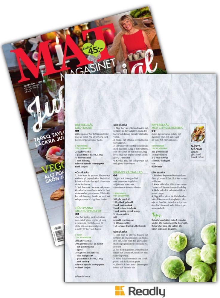 Tips om Matmagasinet 17-11 sidan 93