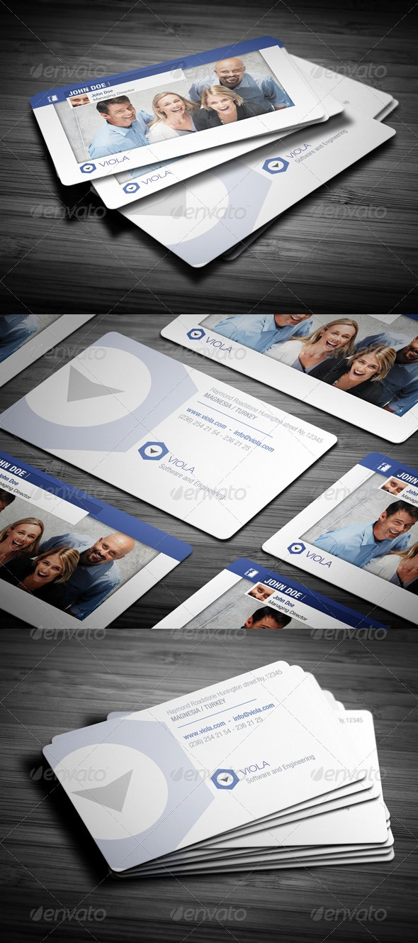 7 best bidness images on pinterest business card design business new social business card reheart Choice Image