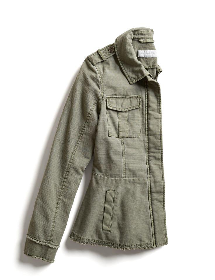 Stitch Fix Fall Stylist Picks: Raw Hem Cargo Jacket