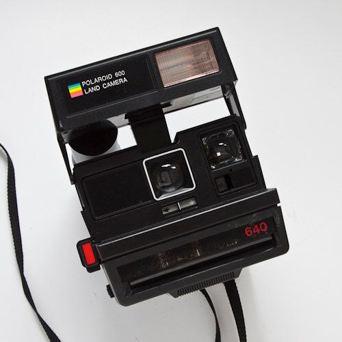 Polaroid 600 Land Camera 640 Instant Film Works With Impossible Project by GOODEXPOSUREPHOTO on Etsy https://www.etsy.com/listing/237665782/polaroid-600-land-camera-640-instant
