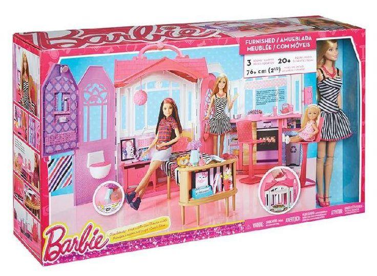 Barbie bundle casa glam Mattel