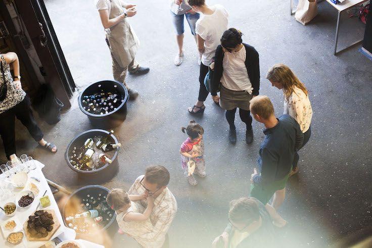 Guests at our Teglholmen Showroom in Copenhagen