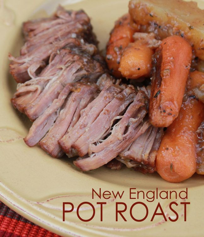 New England pot roast with Kraft Recipe Makers #SweepstakesEntry