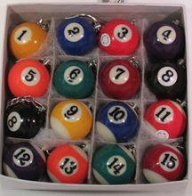 Freies Verschiffen 16 teile/satz neue Pool Ball Schlüsselbund Billard Schlüsselbund Schlüsselbund Snooker Tisch Ball Schlüsselbund Schlüsselbund(China (Mainland))
