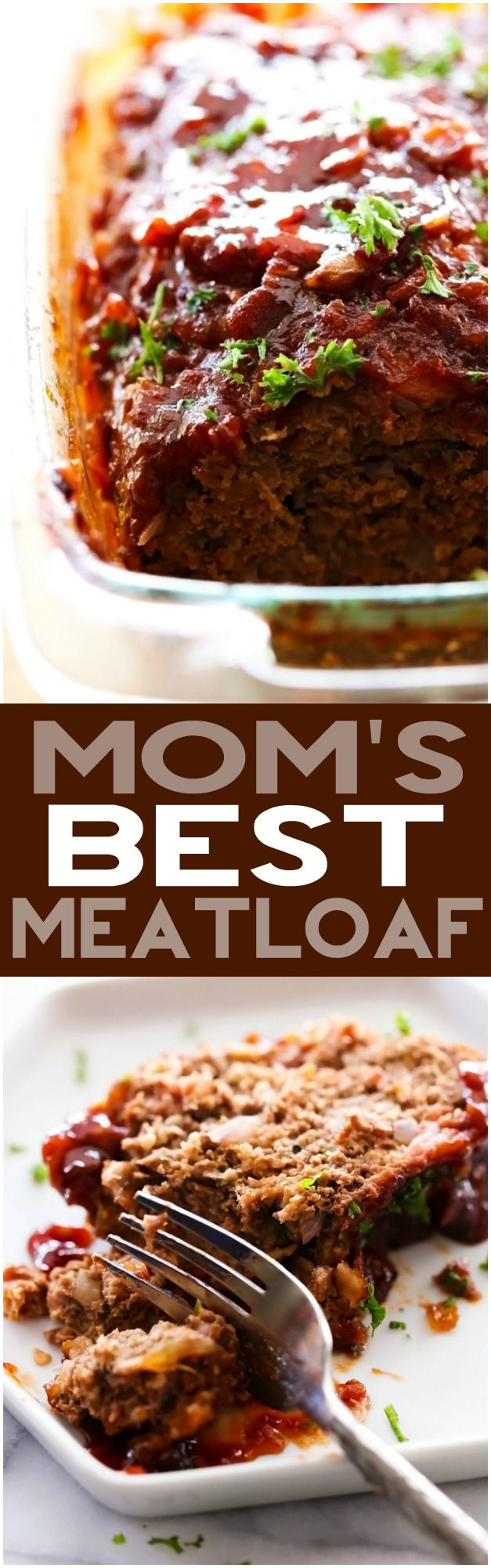 Mom's Best Meatloaf | Chef-In-Training | This meatloaf is packed with flavor! It is juicy, simple and loaded with yummy ingredients! It is by far my favorite meatloaf recipe!