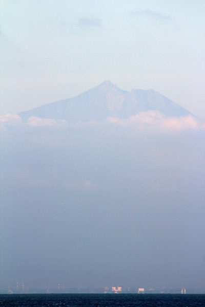 A 3726 meters-above-sea-level mount, Mt. Rinjani, Lombok, Indonesia