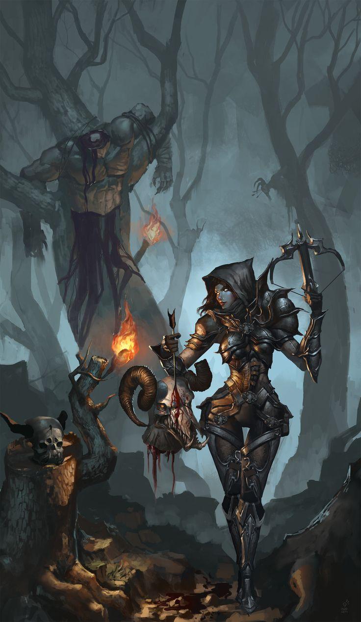 Valla Demon hunter