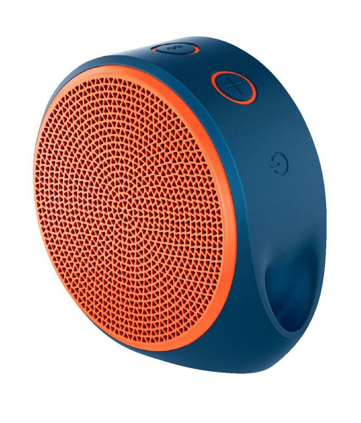 Logitech Bluetooth Speakers 2 Computer Speakers Orange.