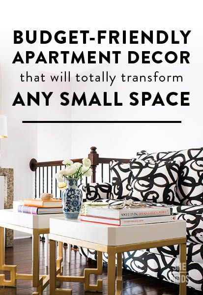 6 Small Space Decorating Tricks Every Apartment Dweller Should Try ASAP